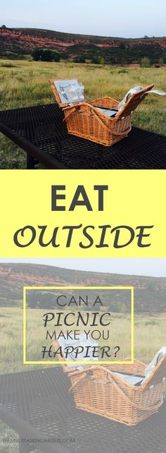 How Can A Picnic Make You Happier? | Step outside and enjoy a meal.  Find out why eating outside can make you happier.  We can all use a little extra happiness.  http://www.themultitaskingmissus.com/how-can-a-picnic-make-you-happier/?utm_campaign=coschedule&utm_source=pinterest&utm_medium=The%20Multitasking%20Missus&utm_content=How%20Can%20A%20Picnic%20Make%20You%20Happier%3F