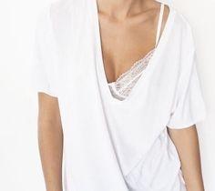MINIMAL + CLASSIC: V-neck, lace underthings