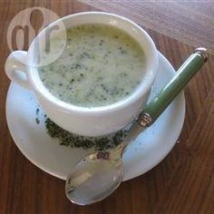 Broccoli and Stilton Soup @ allrecipes.co.uk