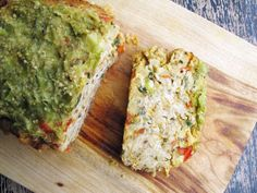 Chicken Enchilada Meatloaf - A Southwest-style meatloaf you can't refuse: crushed corn chips, home-mixed taco seasoning, jalapeños, and shredded cheddar, with a baked-on tomatillo topping.