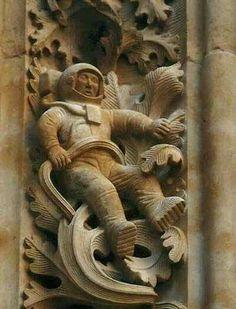 Cathedral Salamanca, Spain...??? 1100 AD...