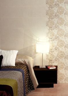 Plain cream wall tile ideal for either creating a minimalist style or combing with the gold embossed decor. Boutique tiles at cheap internet prices