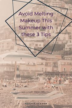 Do you hate how your makeup feels in the summer humidity? Make sure your makeup has staying power and can endure the heat with these 3 tips! This will make your Seint makeup last all day. Summer is here, which means temperatures are rising! Here are three tips to make your cream makeup last in the heat and humidity. www.kellysnider.com Simple Everyday Makeup, Everyday Makeup Routine, Daily Beauty Routine, Simple Makeup, Beauty Routines, Quick Makeup, Full Face Makeup, Easy Makeup Tutorial, Makeup Tutorial For Beginners