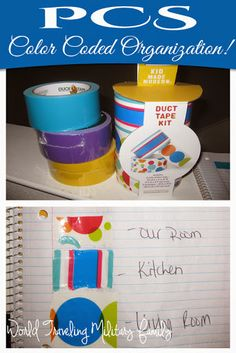 I get asked often what is my favorite trick or tip to make PCSing (or moving) just a bit easier. My answer is always PCS color coded organization! What do I mean by that? It's really so simple but makes a world of difference just by using colored duct tape! So how does this simple [...]