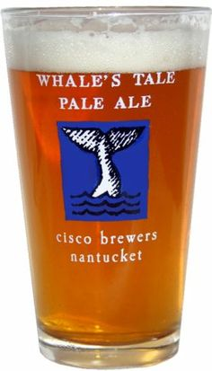 Whale's Tail Pale Ale by Cisco Brewery in Nantucket.  If you can say the name of the beer three times fast, you need another.