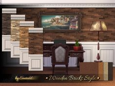 Sims 4 CC's - The Best: Walls & Floors by Emerald