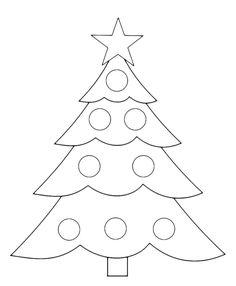 Natale - Albero di Natale semplice