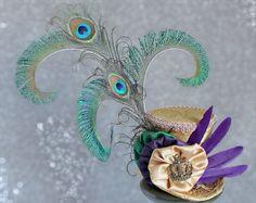 Mardi Gras Mini Top Hat Mardi Gras Costume by LittleMissHattitude