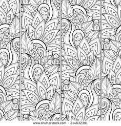 Stock Images similar to ID 130069694 - seamless pattern with roses and ...