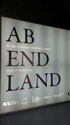 "Cartel de la Expo ""Abendland"" del Colectivo IC-98 en el Conde Duque de Madrid.  #Cartel #Affiche #Arterecord 2014 https://twitter.com/arterecord"