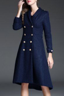 Join Dezzal, Get $100-Worth-Coupon GiftShawl Collar Double Breasted CoatFor Boutique Fashion Lovers Only: Designer Collection·New Arrival Daily· Chic for Every Occasion