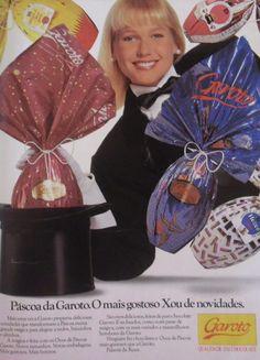 Ovos de Páscoa Garoto #anos90 #nostalgia