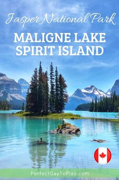 Learn reasons Why you should NEVER visit Spirit Island, nor take the Maligne Lake Cruise, while traveling through Jasper National Park in Alberta, Canada with your family. ...unless you want to enjoy one of the most breathtaking experiences in Canada, see the iconic Spirit Island for real, work at a unique world-known photography location, enjoy the glacier waters of Maligne Lake either via a cruise boat tour or via a canoe. Facts & visit tips. #jasper #alberta #maligne #canada #travel Jasper Alberta, Alberta Canada, Adventure Activities, Travel Activities, Beautiful Places To Visit, Cool Places To Visit, Travel Tips, Travel Destinations, Cruise Boat