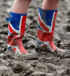 Because you can take a train to Glastonbury Festival in Somerset British Seaside, British Summer, English Summer, Uk Summer, Summer Time, Streetwear, Isle Of Wight Festival, Stuck In The Mud, Wellington Boot