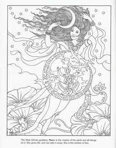 goddess coloring pages 146 Best Goddess Coloring Pages for Adults images | Adult coloring  goddess coloring pages