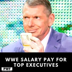 Recent 2019 SEC filings revealed increases in salary for all WWE executives. Vince Mcmahon, Wwe News, Rich People, Wwe Wrestlers, Wrestling, Lucha Libre