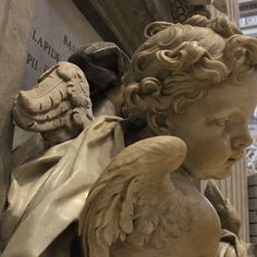 Sculpture in Sant Peters, Rome. 2017 of peace and serenity!