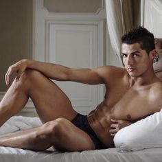 Soccer Players in Underwear: CRISTIANO RONALDO