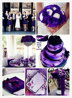 Purple wedding is very suitable for September!     Check out our wedding stuff at www.CreativeWeddingStyle.com.