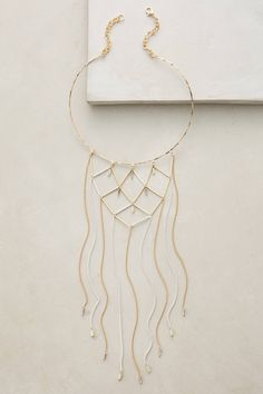 Lattice Collar Necklace - anthropologie.com
