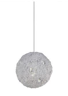 Bancroft Small Pendant Light Shade Clear Acrylic