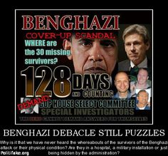 Where are the 30 survivors?  Demand that they testify on Benghazi.