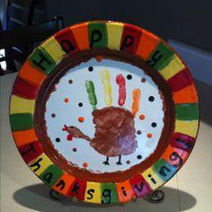 Thanksgiving plate :)