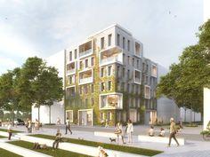 Grüne Ecke Neckarbogen - Mattes Riglewski Architekten