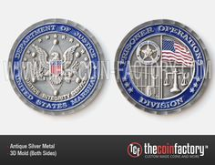DEPARTMENT OF JUSTICE #challenge_coins