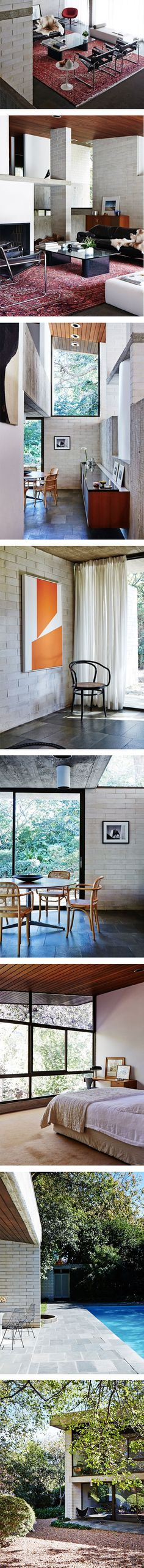 The Gissing House in Sydney by Harry Seidler on Nuji.com #gissinghouse #harryseidler #sydney