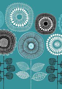 Poster flores No3 láminas de edición limitada por EloiseRenouf