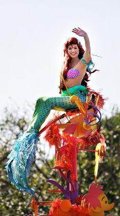 Princess Ariel Face Character