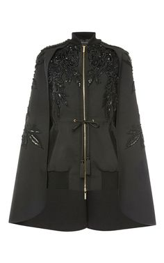 Beaded Cape by ELIE SAAB for Preorder on Moda Operandi