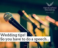 So you have to do a speech. Have A Good Night, Good Night Sleep, Best Wedding Speeches, How To Focus Better, Cue Cards, Pressure Points, Public Speaking, Wedding Tips, Wedding Planner