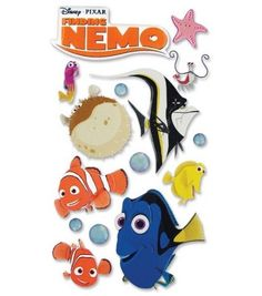 Disney Le Grande Stickers-Finding Nemo-Nemo, , hi-res