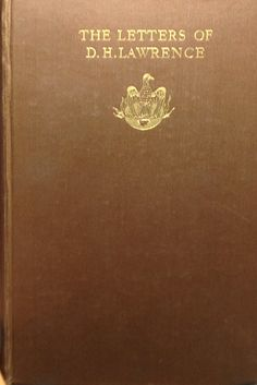 The Letters of D. H. Lawrence, $169.00