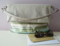 Double bag stripes  http://www.facebook.com/CommeDHabitudeAccessories