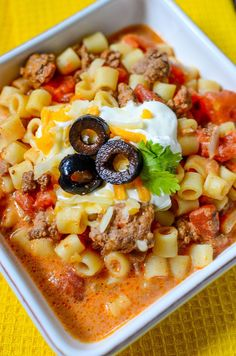 you like hearty Mexican flavors, this Easy Slow Cooker Taco Stew is going to fit the bill! Slow Cooker Tacos, Crock Pot Slow Cooker, Crock Pot Cooking, Mexican Food Recipes, Crockpot Recipes, Cooking Recipes, Goulash Recipes, Crockpot Dishes, Budget Recipes