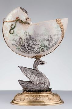 One of the pieces shown at the Masterpieces of Goldsmithing from the Thyssen-Bornemisza Collection