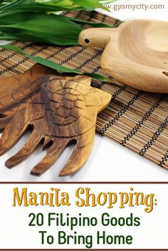 What to buy in Manila? Check out this insider's souvenir guide on the best Filipino products to buy in Manila.  #ManilaWhattoBuyin #ManilaSouvenirs #ManilaShopping  #FilipinoProducts #GPSmyCity #ManilaGuide #ManilaGiftIdeas # ManilaTravelGifts