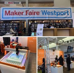 At the Maker Faire today in Westport, CT. Stop by to see #STEPCRAFT in action! Jesup Green, Westport Library https://westport.makerfaire.com #woodworking #makersgonnamake #thinkitmakeit #stepcraftinc www.stepcraft.us