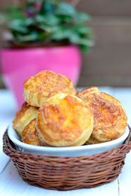 Pagáče Biscuits, Muffin, Cooking Recipes, Sweets, Baking, Breakfast, Food, Breads, Crack Crackers
