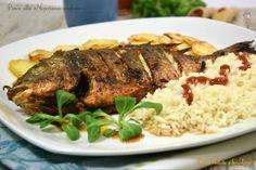 Pesce alla Nigeriana grigliato