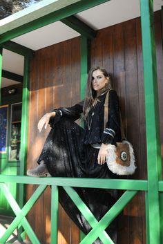 Look Yulenka Dress y Bolso Zhenya Boho Chic, Goth, Dresses, Style, Fashion, Vestidos, Fall Winter, Gothic, Swag