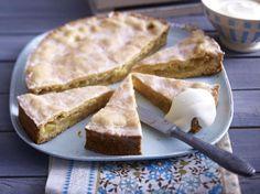Gedeckter Apfelkuchen #kuchen #backen #äpfel #klassiker