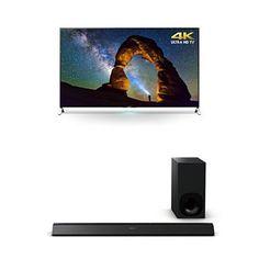 [2015] Cyber Monday Deals Sony XBR65X900C 65-Inch TV with HTCT780 Soundbar Cyber Monday Sales