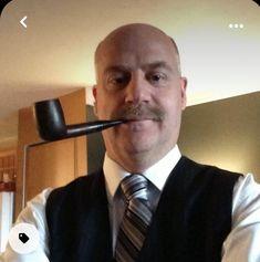 Pipe Smoking, Relax, Men, Guys