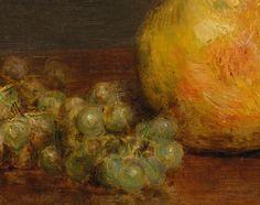Henri Fantin-Latour 'Still Life with Roses and Fruit' (detail) 1863 | Flickr - Photo Sharing! Be Still, Still Life, Henri Fantin Latour, Henri De Toulouse Lautrec, Canvas 5, Roses, Detail, Fruit, Attic