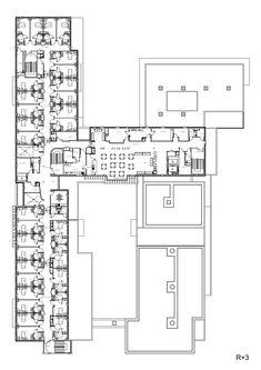 Establishment for Dependent Elderly,Third Floor  Plan
