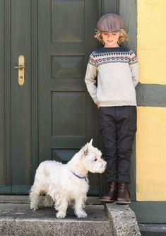 #knit #pattern for #kids from Sandes garn - Gustavgenser